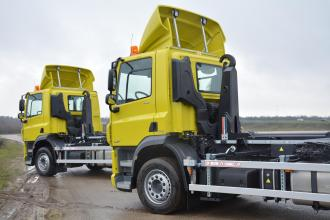 Another two identical hooklifts delivered to company Gielen